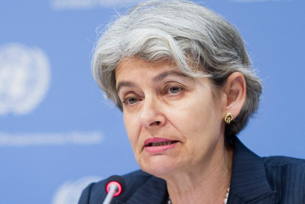 Director-General of the UN Educational, Scientific and Cultural Organization (UNESCO) Irina Bokova. UN Photo/Mark Garten