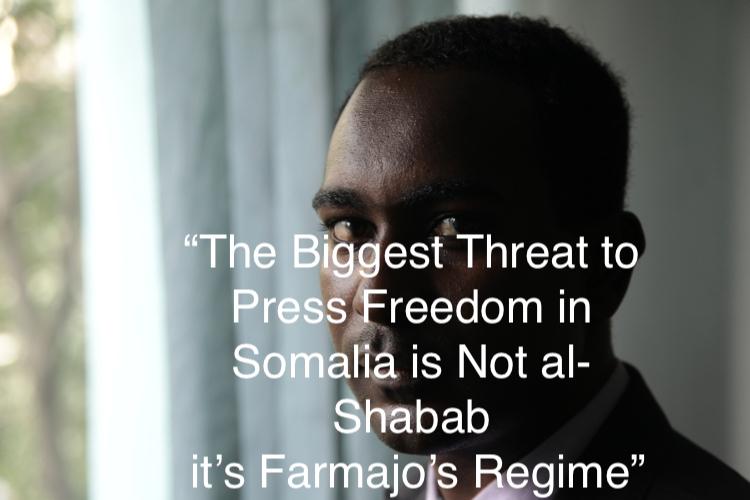 Photo: Journalist Abdalle Mumin