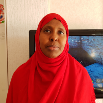 Photo Ifrah Guled: She left Somalia because she feared her time was running out.