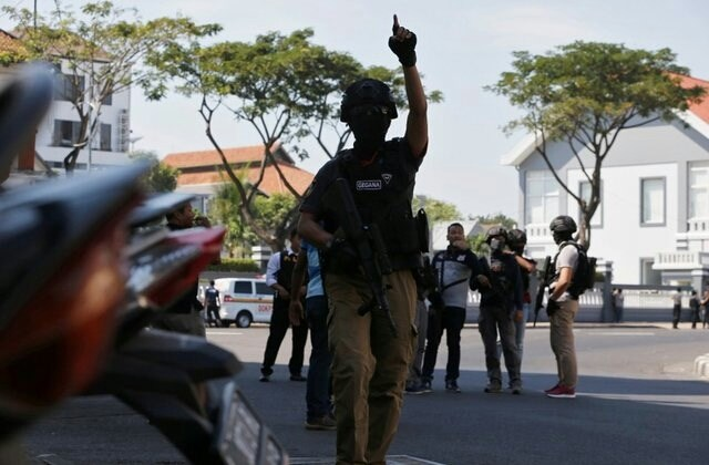 'Mother of Satan' explosives used in Surabaya church bombings