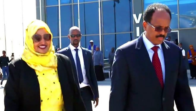 President Farmajo leaves for Saudi Arabia to attend Arab League Summit