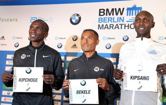 Sensational Kipchoge storms to Berlin victory